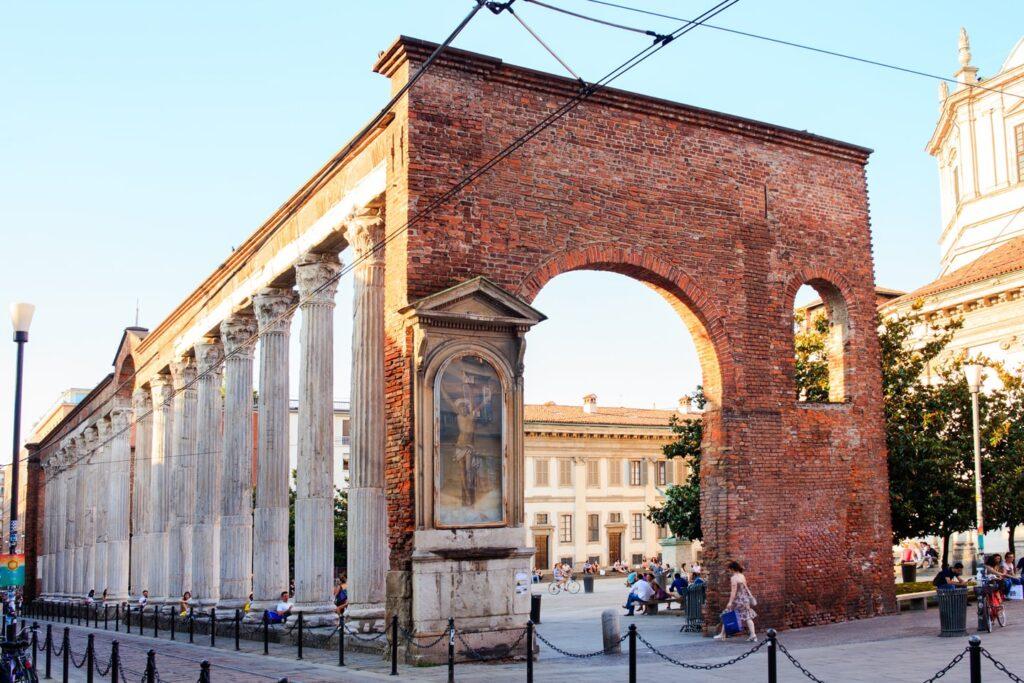 Milano – colonne di san lorenzo